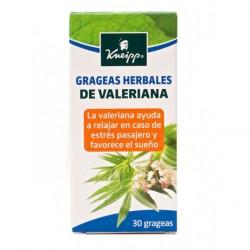 KNEIPP GRAGEAS HERBALES DE VALERIANA 30 GRAGEAS