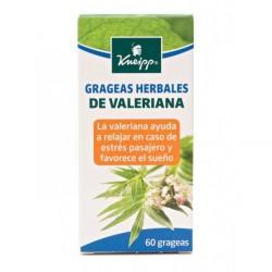 KNEIPP GRAGEAS HERBALES DE VALERIANA 60 GRAGEAS
