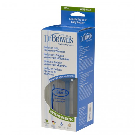 BIBERON DR BROWN´S 300ML. BA TETINA NIVEL 2