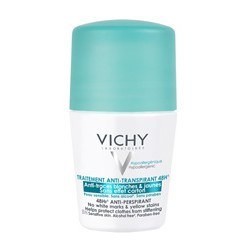 VICHY DESODORANTE ANTITRANSPIRANTE ANTIMANCHAS 48 HORAS ROLL-ON 50ML