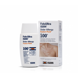 FOTOULTRA ISDIN 100+ SOLAR ALLERGY FUSION FLUID 50 ML