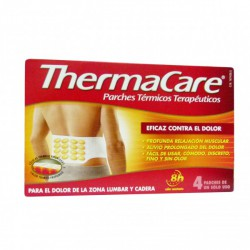 THERMACARE ZONA LUMBAR Y CADERA PARCHES TÉRMICOS 4 PARCHES