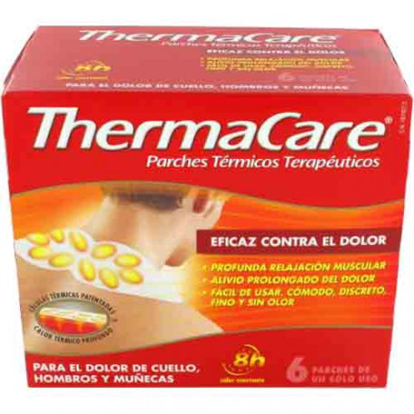THERMACARE CUELLO HOMBROS Y MUÑECAS PARCHES TERM 6 PARCHES