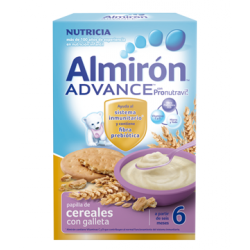 ALMIRON ADVANCE CEREALES CON GALLETAS 600GR