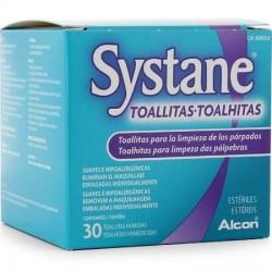 SYSTANE TOALLITAS HUMEDAS ESTERILES LIMPIEZA PAR 30 TOALLITAS