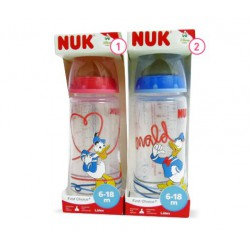 BIBERON 0 BPA FC PP LATEX NUK 2L 300 ML DONALD