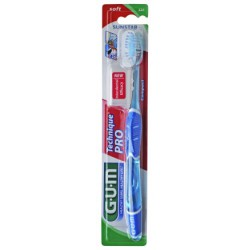CEPILLO DENTAL ADULTO GUM 528 TECHNIQUE PRO COMPACT MEDIO