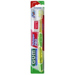 CEPILLO DENTAL ADULTO GUM 525 TECHNIQUE PRO COMPACT SUAVE