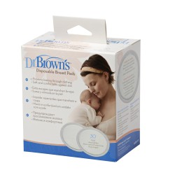 DISCOS ABSORBENTES LACTANCIA DR BROWN'S DESECHABLES 60U