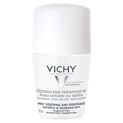 VICHY DESODORANTE ANTITRANSPIRANTE PIELES MUY SENSIBLES ROLL-ON 50ML