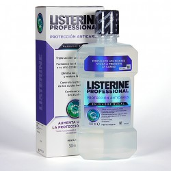 LISTERINE PROFESIONAL PROTECCION ANTICARIES 500 ML