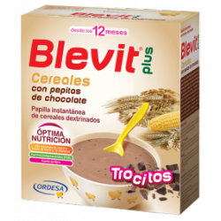 BLEVIT PLUS CEREALES Y PEPITAS DE CHOCOLATE 600 G