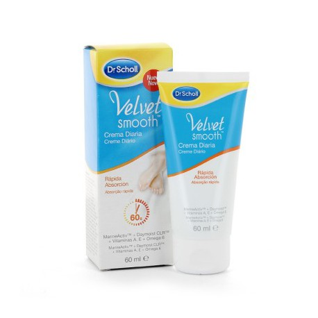 DR SCHOLL VELVET SMOOTH PIES CREMA DIARIA 60 ML