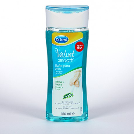 DR SCHOLL VELVET SMOOTH PIES BAÑO 150 ML