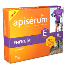 APISERUM ENERGIA 300MG 30 CAPS