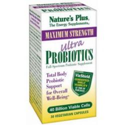 NATURES PLUS ULTRA PROBIOTICO 30 CAPS