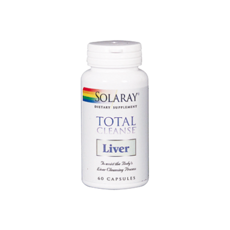 SOLARAY TOTAL CLEANSE LIVER 60CAPS