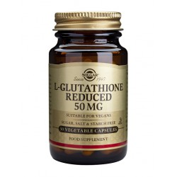 SOLGAR L GLUTATION  50 MG 30 VCAPS