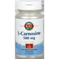 SOLARAY L-CARNOSINE KAL 30 CAPS