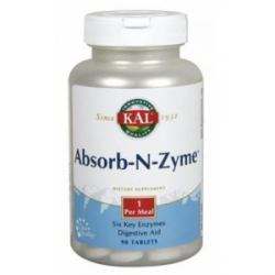 SOLARAY ABSORB-N-ZYME 90 COMP