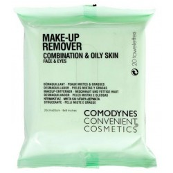 COMODYNES MAKE-UP REMOVER PIEL MIXTA/GRASA 20U