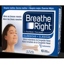 TIRAS NASAL BREATHE RIGHT PEQ 10 U