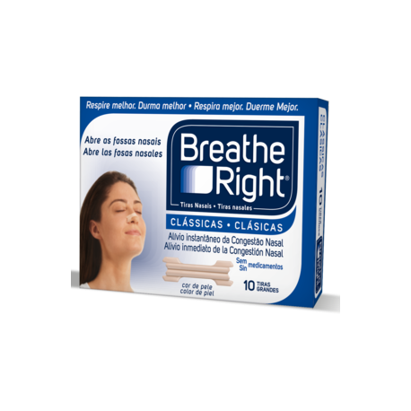 TIRAS NASAL BREATHE RIGHT PEQ 10 U