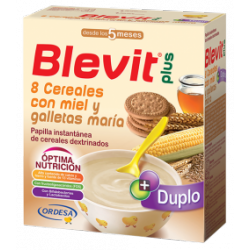 BLEVIT PLUS DUPLO 8 CER MIEL GALLETA
