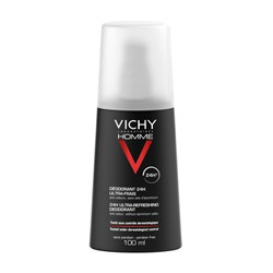 VICHY HOMME DESODORANTE SPRAY ULTRAFRESCO 24H 100ML