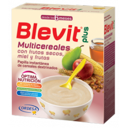 BLEVIT PLUS MULTICEREALES CON MIEL, FRUTOS SECOS