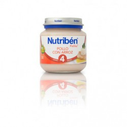 NUTRIBEN BEBE POLLO ARROZ 130G