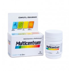 MULTICENTRUM LUTEINA 30 COMPR