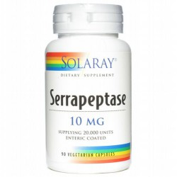 SOLARAY SERRAPEPTASE 90 CAPS