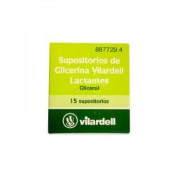 SUPOSITORIOS VILARDELL LACT15 SUP