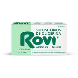 SUPOSITORIOS ROVI ADULTOS 12 SUP