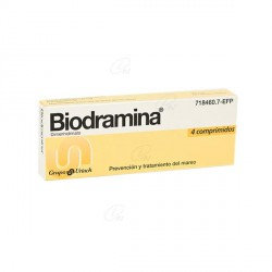 BIODRAMINA 4 COMP