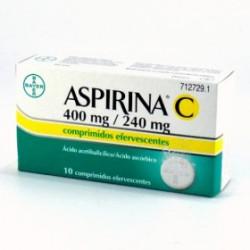 ASPIRINA C EFERV 10 COMP