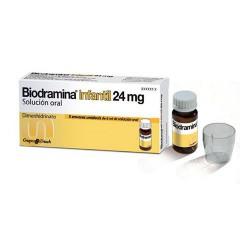 BIODRAMINA INFANTIL 24MG 5 ENVASES