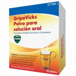 GRIPA VICKS 10 SOBRES