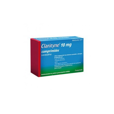 CLARITYNE 10MG 7 COMP