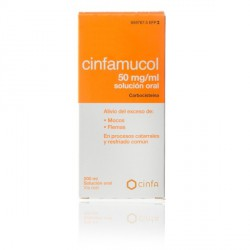 CINFAMUCOL 250 MG/5 ML SOLUCION ORAL 200 ML