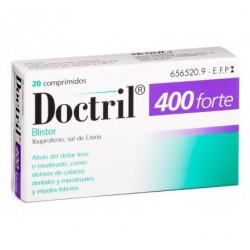 DOCTRIL FORTE 400 MG 20 COMPR RE