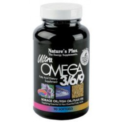 NATURES PLUS ULTRA OMEGA 3/6/9  90 COMP