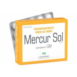 LEHNING MERCUR SOL 39  60 COMPRIMIDOS