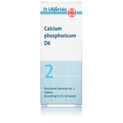 DHU SALES DE SCHUSSLER Nº2 CALCIUM PHOSPHORICUM D6 80 COMPRIMIDOS
