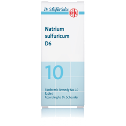 DHU NATRIUM SULFURICUM D6 80 COMPRIMIDOS SAL DE SCHÜSSLER Nº10