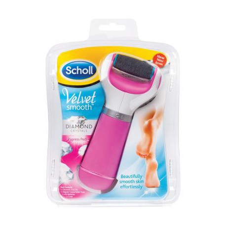DR SCHOLL VELVET SMOOTH LIMA ELECTRONICA CRYSTAL DIAMONDS ROSA