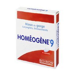 BOIRON HOMEOGENE 9, 60 COMP