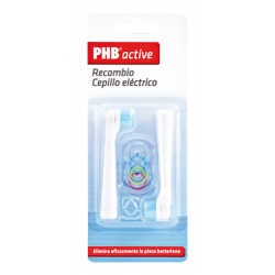 RECAMBIO CEPILLO DENTAL ELECTRICO PHB ACTIVE 2 CABEZALES