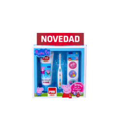 PACK PHB PETIT GEL DENTIFRICO 75ML + CEPILLO + REGALO TATTOOS PEPPA PIG